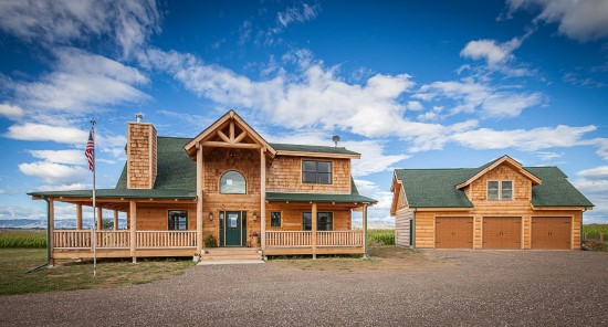 Mountain View Lodge 3 - Natural Element Homes